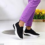 ТОЛЬКО 38,39 р!!! Кроссовки женские черные со стразами текстиль весна-лето-осень, фото 6