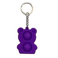 Брелок Pop It Мишка (violet)