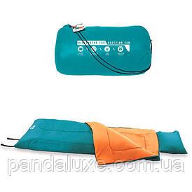 Туристический спальный мешок Bestway 68055 с подушкой