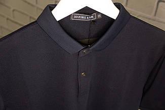 Футболка-поло чоловіча Armani Темно-синій Батник Теніска Чоловіча одяг Повсякденний модель для чоловіків, фото 2