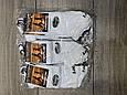 Жіночі шкарпетки стрейчеві Marde білі мікрофібра сітка короткі розмір 36-40 12 шт в уп, фото 2