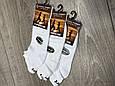 Жіночі шкарпетки стрейчеві Marde білі мікрофібра сітка короткі розмір 36-40 12 шт в уп, фото 4