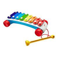 Fisher-Price Классический ксилофон-каталка на веревочке Classic Xylophone CMY09