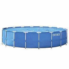 Круглий каркасний басейн Intex 28252 (549x122 см) Metal Frame Pool