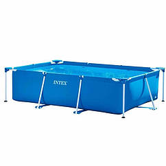 Прямоугольный каркасный бассейн Intex 28272 Rectangular Frame Pool (300x200x75 см)
