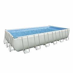 Прямоугольный каркасный бассейн Intex 26368 (28364) Ultra Frame Rectangular Pool (732x366x132 см)