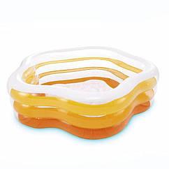 Дитячий надувний басейн Intex 56495 Summer Colors Pool (185х180х53 см)