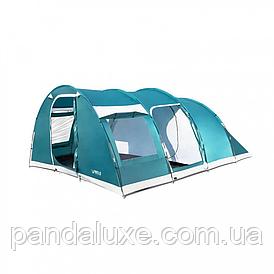 Палатка туристическая шестиместная BW 68095 с навесом