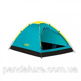 Палатка туристическая двухместная BW 68084 с навесом