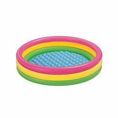 Дитячий надувний басейн Intex 57422 Sunset Glow Pool (147х33 см)