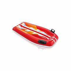 """Детский надувной плотик Intex 58165 """"Серфинг"""" (112х62 см) Joy Rider (Красный)"""