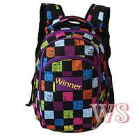 Рюкзак шкільний повсякденний жіночий Winner 317