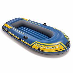 Двухместная надувная лодка Intex 68366 (236х114х41 см) Challenger 2