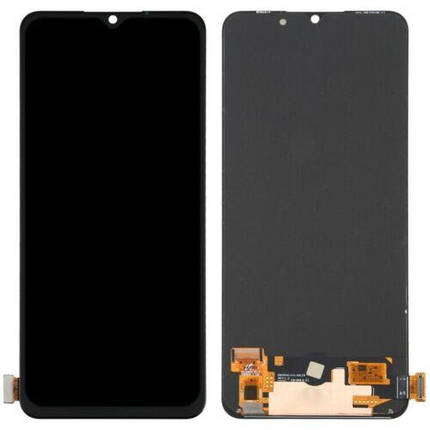 Дисплей (экран) Oppo F15 с сенсором (тачскрином) черный Оригинал Amoled, фото 2