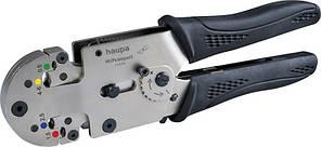 Обжимний інструмент (0.1-6мм) для ізольованих наконечників (Haupa) 213090