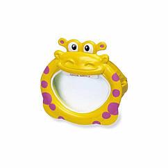 Дитяча маска для плавання Intex 55910 (Жовтий) Fun Masks