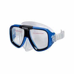 Маска для плавання Intex 55974 (Синій) Reef Rider Masks