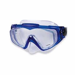 Маска для плавання Intex 55981 (Синій) Silicone Aqua Pro Masks
