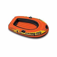 Одномісний надувний човен Intex 58355 (160х94х29 см) Explorer Pro 100