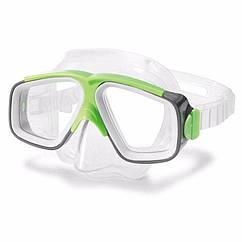 Маска для плавання Intex 55975 (Зелений) Surf Rider Masks