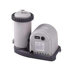 Картріджний фільтруючий насос Intex 28636 (5678 л/год) Crystal Clear Filter Cartridge Pump (для басейнів,