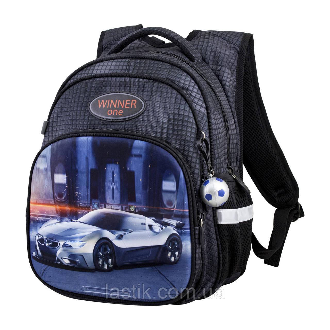 Рюкзак школьный для мальчиков Winner One R3-225