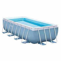 Прямоугольный каркасный бассейн Intex 28316 Prism Frame Pool (400x200x100 см)