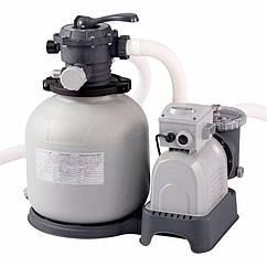 Пісочний фільтруючий насос Intex 28652 (12000 л/годину, 55 кг) Krystal Clear