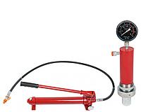 Цилиндр гидравлический для пресса с манометром 30 тонн Profline 97325+Насос гидравлический 30 тонн 97107+97325, фото 1