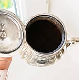 Посеребренный английский заварочный чайник, серебрение, мельхиор, GRAYSON & SON, Англия, фото 7