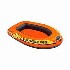 Дитяча одномісний надувний човен Intex 58354 (137x85x23 см) Explorer Pro 50