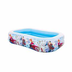 Сімейний надувний басейн Intex 58469 Холодне Серце Swim Center Pool (262x175x56 см)
