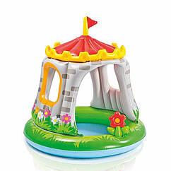 Дитячий надувний басейн Intex 57122 Королівський Замок Royal Castle Baby Pool (122x122 см)