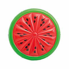 Надувной плот Intex 56283 Арбуз (183x23 см) Watermelon Island