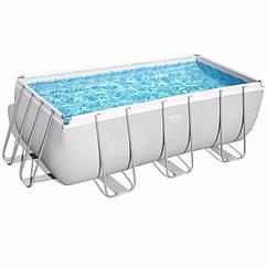 Прямоугольный каркасный бассейн Bestway 56457 (412х201х122 см) Power Steel Frame Pool