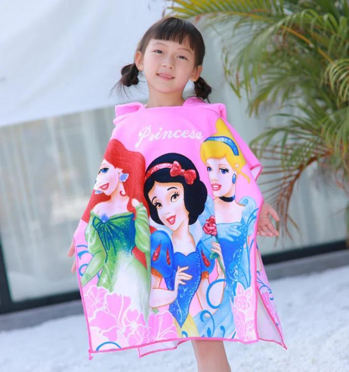 Пляжное пончо-полотенце Принцессы