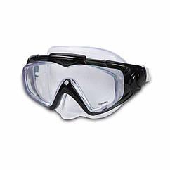 Маска для плавання Intex 55981 (Чорний) Silicone Aqua Pro Masks