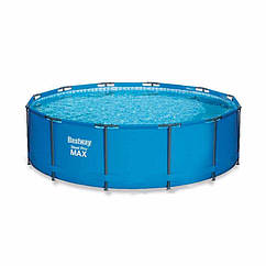 Круглий каркасний басейн 15428 (366 x 133 см) Steel Pro Frame Pool