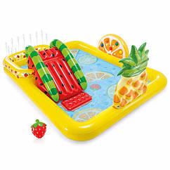 Водный надувной игровой центр Intex 57158 (244 x 191 x 91 см) Фруктовая вечеринка