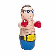 Надувна іграшка-неваляшка Intex 44672 (94 x 74 см) Боксер