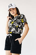Костюм шорты и футболка для девочки