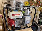 Бензиновая мотопомпа HONDA WP30, фото 4