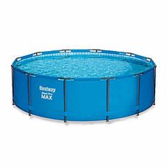 Круглий каркасний басейн 15327 (305х100 см) Steel Pro Max