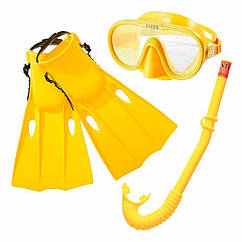 Набір для плавання Intex 55655 (Жовтий) Шукач пригод