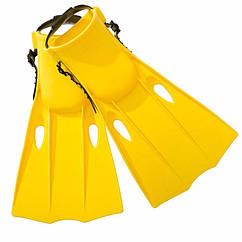 Дитячі ласти для плавання Intex 55937 (38-40) Medium Swim Fins (Жовтий)