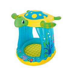 Дитячий надувний басейн Bestway 52219 (109-96-94 см) Черепаха