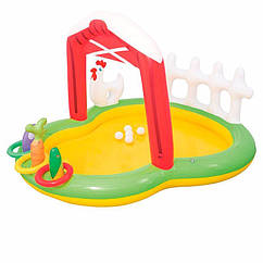 Водный надувной игровой центр Bestway 53065 (175 x 147 x 102 см) Ферма