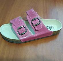 Обувь ортопедическая женская Ортекс, босоножки розовые.
