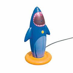 Надувная игрушка-разбрызгиватель Bestway 52246 (74 x 74 x 132 см) Акула
