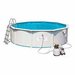 Круглий каркасний басейн 56384 (460 x 120 см) Hydrium™